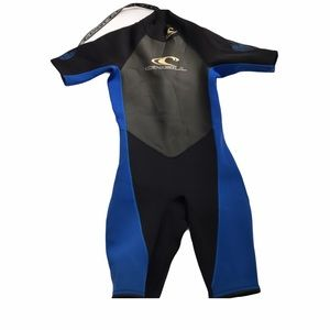 ONEILL Hammer Black And Blue Shorty Wet Suit